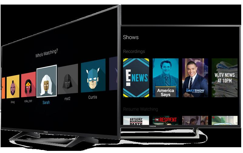 CentraView Smart TVs