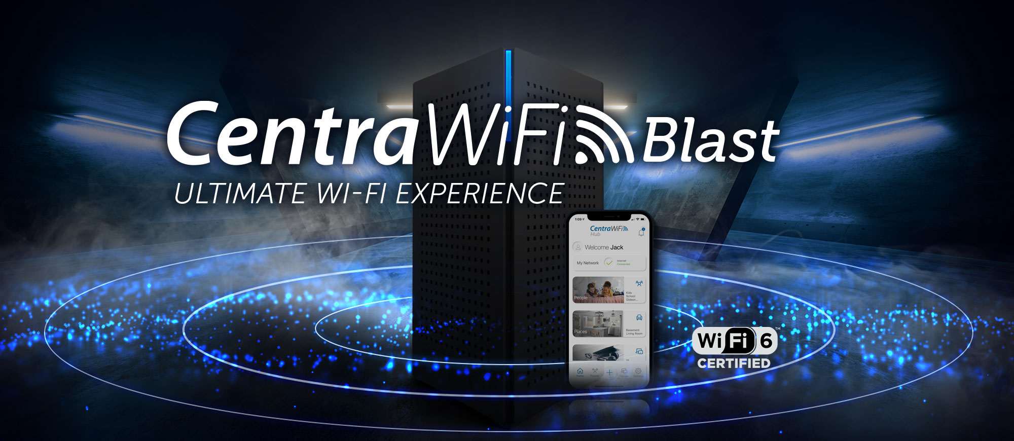 CentraWiFi Whole home mesh wifi system